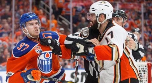 Connor McDavid Edmonton Oilers Ryan Kesler