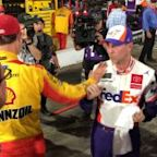 Extended cut: Logano vs. Hamlin from all angles