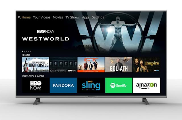 Amazon Fire TV is now built into 4K sets