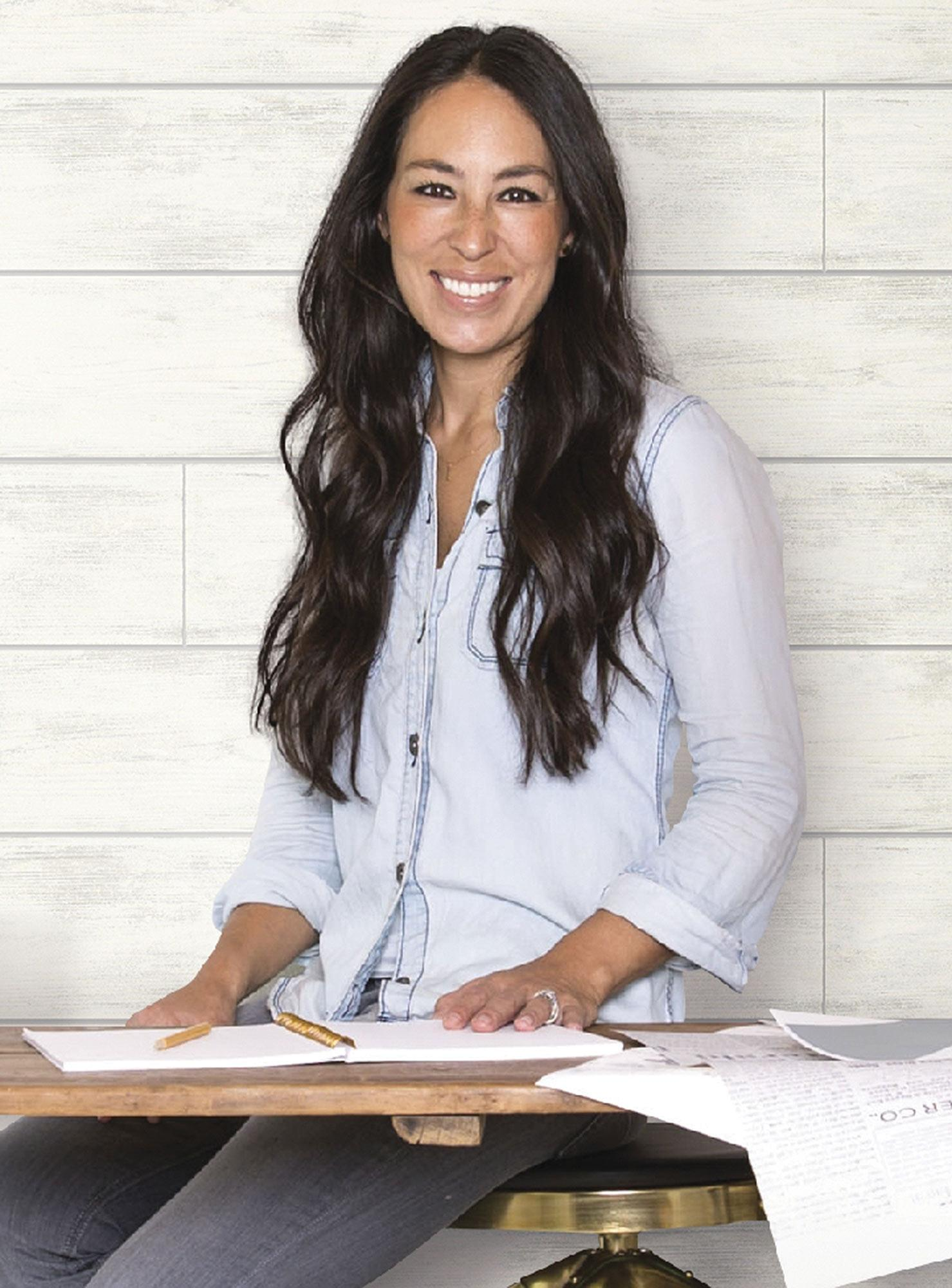 Joanna Gaines New Wallpaper Collection Will Give You The