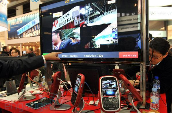 Ittiam shows off four-way 720p HD video conferencing using Android, OMAP 4 (video)