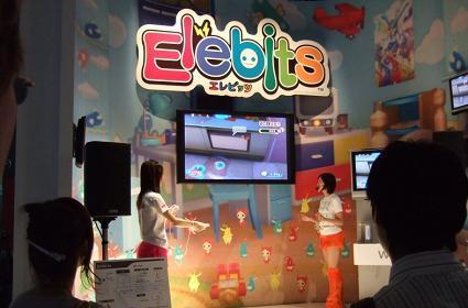 Elebits TGS booth pics and trailer