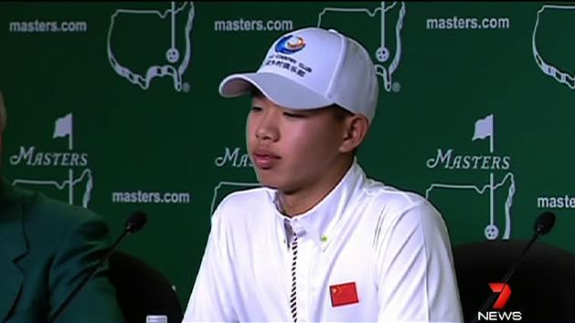 14yo to play at US Masters