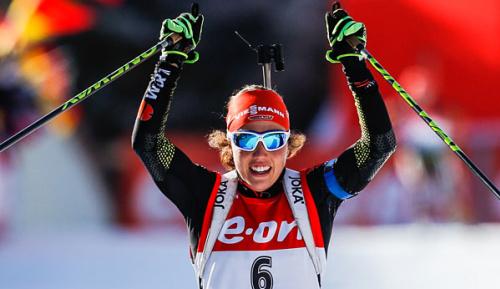 Biathlon: Dahlmeier erneut Sportlerin des Monats
