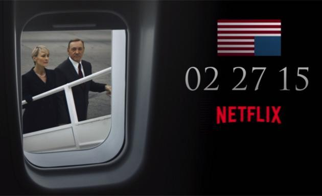 The third season of 'House of Cards' arrives on February 27th, 2015