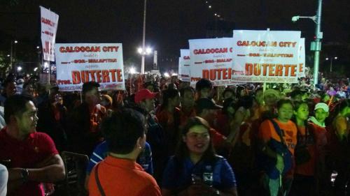 菲人民革命紀念日  對立聲中渡過 (圖).