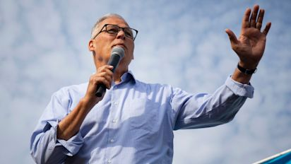 Inslee drops 2020 bid, eyes 3rd term as governor