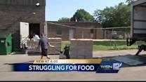 Food pantries struggle to keep up with demand