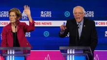 Bernie Sanders gets pummeled in the first minutes of the South Carolina Democratic debate