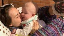 Fofura do dia: Letícia Colin canta para fazer o filho comer