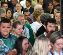 Massive Funeral Held in Brazil for 50 Team Members And Staff Killed in Colombian Plane Crash