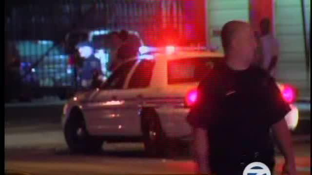 Detroit Police Officer Involved In Shooting