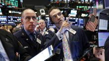 US stocks end mostly lower, weighed down by industrials