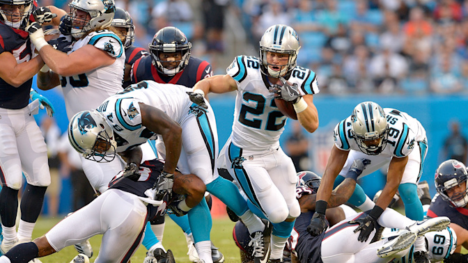 Juggernaut Index, No. 13: Panthers add McCaffrey to Cam's toy chest