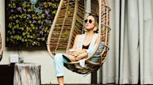 Garden swing chairs that are still in stock, with prices starting at £50