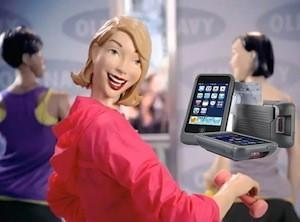 Old Navy pilots iPod-based point-of-sale system, still has creepy mannequins