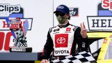 Brandon Jones takes lead late to win Darlington Xfinity race