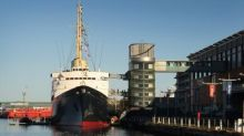 Former royal yacht Britannia voted  top attraction for UK visitors