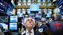 Stocks drop as trade dims earnings outlook; Mexican peso tumbles