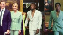 Ivanka Trump channels Kanye West and Jay-Z in light green suit at meeting with Kim Kardashian