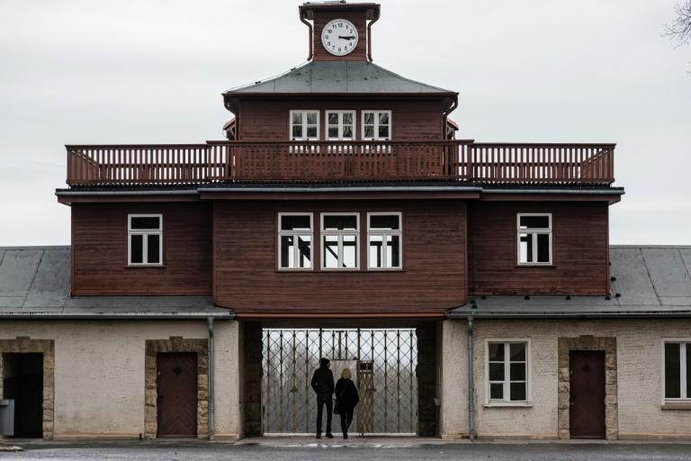 The Buchenwald concentration camp near Weimar in Germany was liberated 75 years ago (AFP Photo/JENS SCHLUETER)