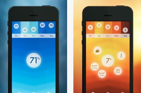 Daily iPhone App: Haze weather app shows that minimalist doesn't have to be minimal