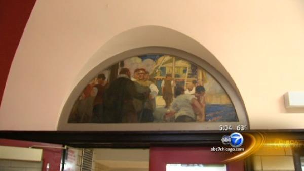 WPA-era murals to come down as CPS schools close