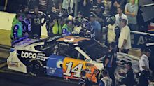 Clint Bowyer throws punches at Ryan Newman after NASCAR All-Star Race