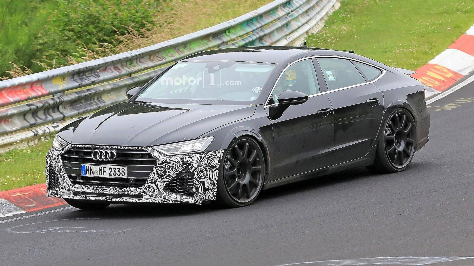 Audi Rs7 Tumblr >> New Audi RS7 Spied Going Fast Through The Nürburgring Corners
