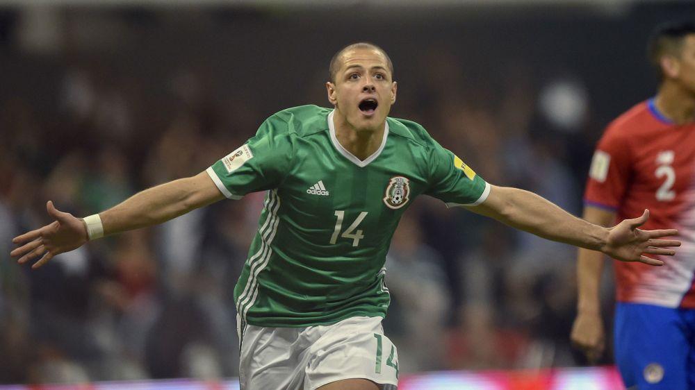 Chicharito sets Mexico's all-time goal record
