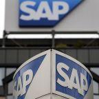 SAP reports 28% profit jump, backs guidance