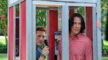Bill & Ted 's Keanu Reeves and Alex Winter Tell High School Graduates to 'Be Excellent to Each Other'