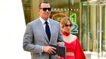 Jennifer Lopez Is Red Hot in $2,838 Crop Top on a Date With Alex Rodriguez