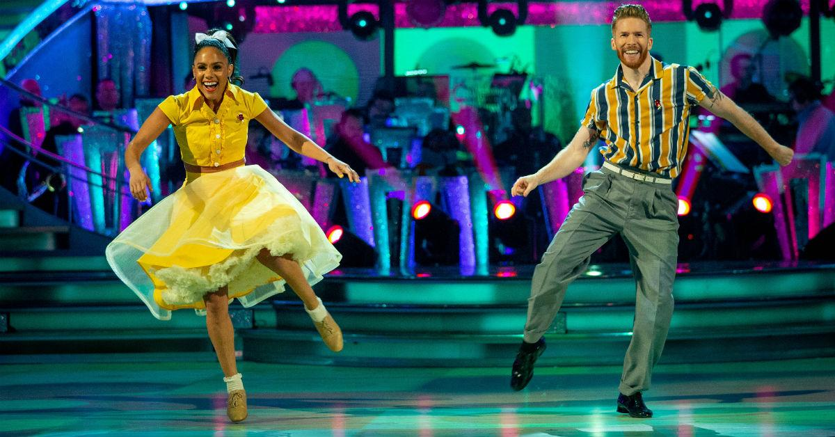 'Strictly's' Motsi Mabuse makes 'affair' faux-pas to Neil Jones and viewers can't deal with the awkwardness