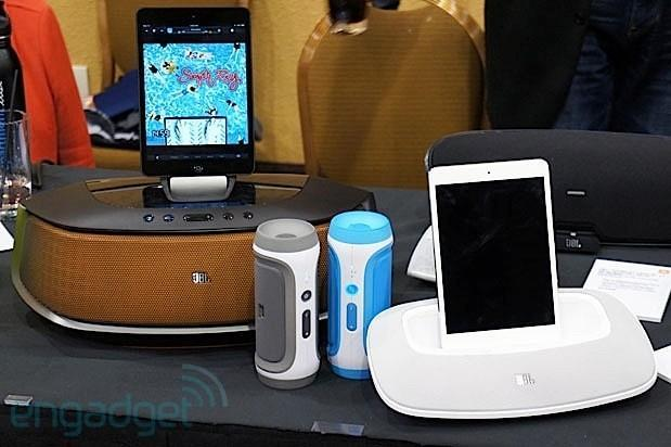 JBL Rumble, OnBeat Mini and Charge spotted at CES, we go ears-on