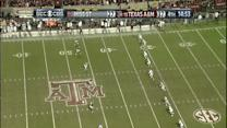 Texas A&M's Trey Williams Kickoff Return for TD Called Back