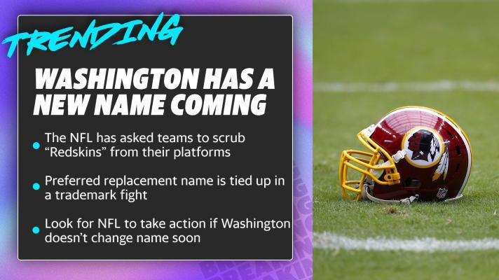 Washington has a new name coming