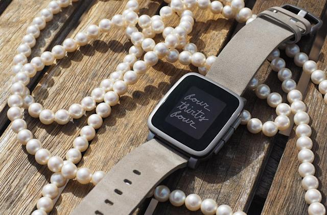 Pebble's Time Steel smartwatch gets a £60 price cut in the UK