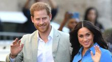 Harry and Meghan mark anniversary of Diana's death with gardening session