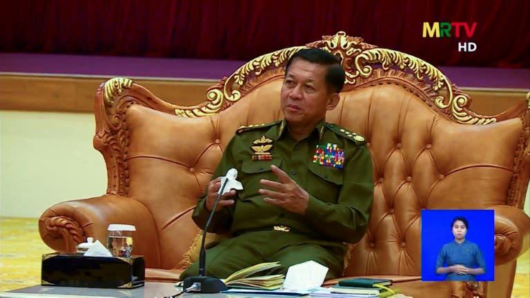 Líder da junta militar de Mianmar irá à cúpula da ASEAN