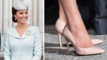 The Secret Hack Kate Middleton Uses to Keep Her Shoes from Slipping Off