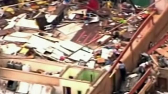 Aftermath of the Oklahoma Tornado