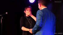 Watch this magician propose to his girlfriend onstage with his best magic trick yet