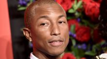 Pharrell Williams covers GQ in a duvet coat/dress, distances himself from Blurred lines