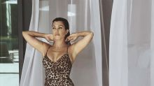 Kourtney Kardashian stuns in $155 one-piece leopard swimsuit that's already sold out