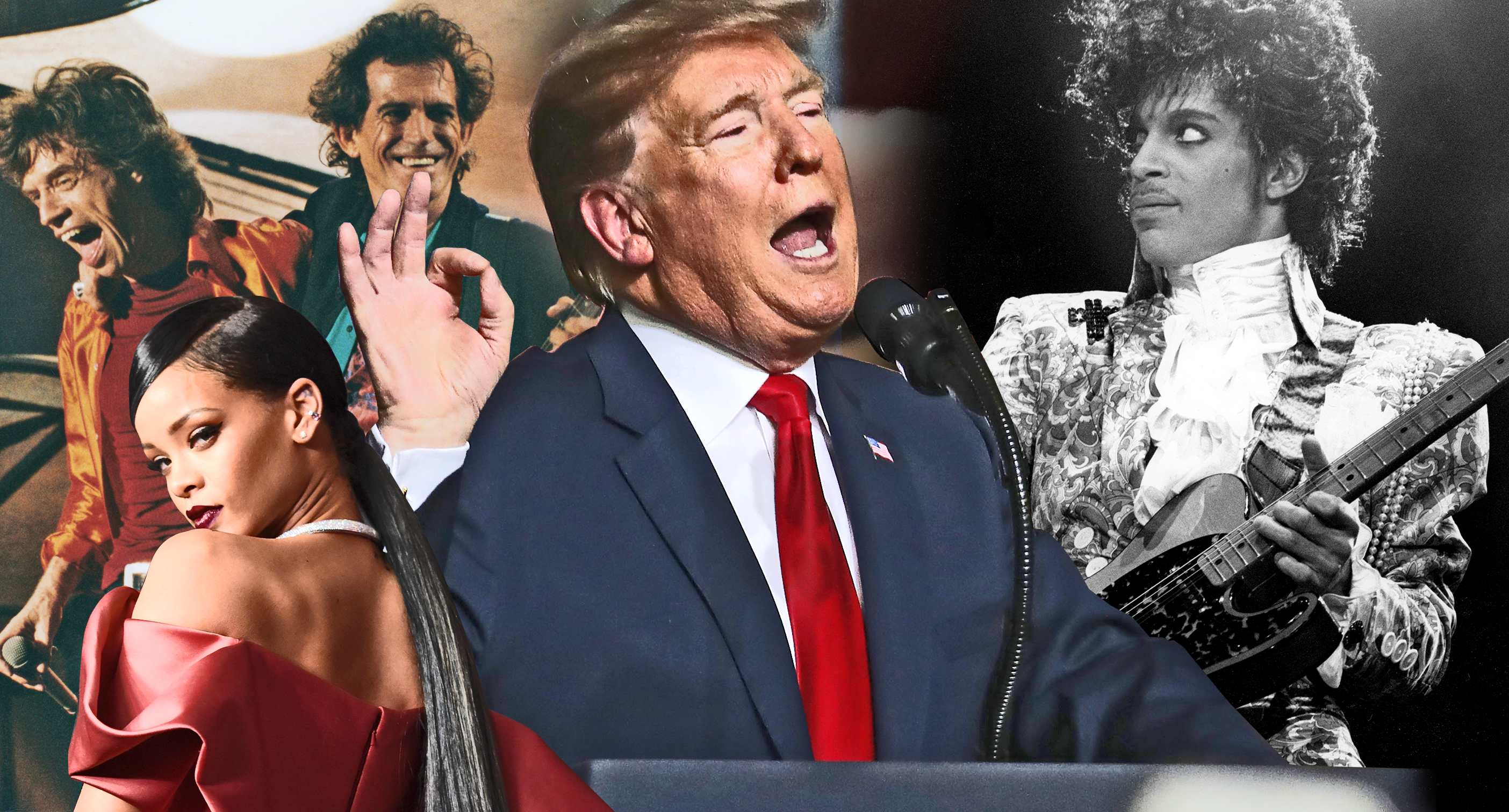 Prince estate calls out Trump for playing his music: Rihanna, the Rolling Stones and many more have done the same