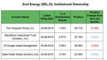 Institutional Activity in Xcel Energy in Q3 2018
