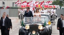 Vestido de Michelle Bolsonaro para posse levou 20 dias para ser feito