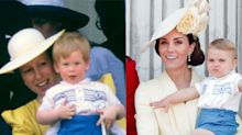 Prince Louis borrowed Prince Harry's hand-me-downs for the Queen's birthday celebrations