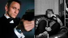 Ed Sheeran quiere seguir los pasos de Adele y ya tiene una canción escrita para James Bond